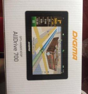 GPS навигатор DIGMA AllDrive 700