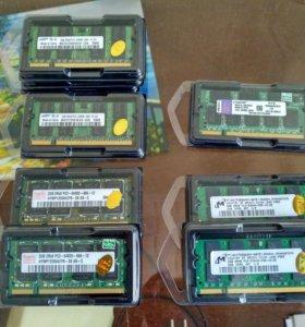 Память DDR2 SO-dimm 2Гб для ноутбука