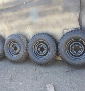 колеса УАЗ 15е