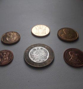 Монеты из Африки. Цена за все