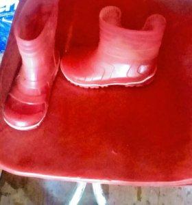 Резиновые сапоги 25 разм