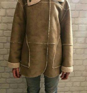 Куртка дубленка искусственная