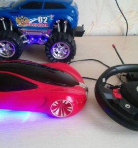 Детские машины на радиоуправлении и инерционная