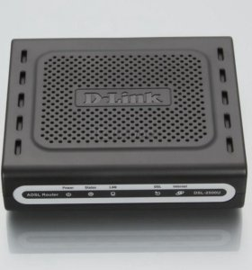 DSL-2500U ETHERNET ROUTER Маршрутизатор