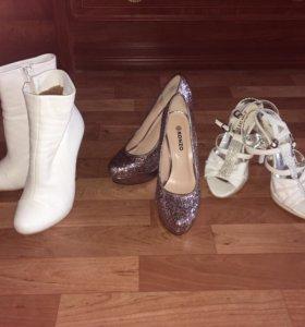 Босоножки, туфли, полусапожки
