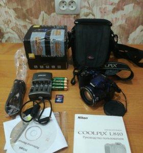 Nikon Coolpix L810 цифровая фотокамера
