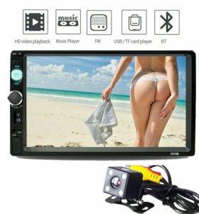 Магнитолы 2Din с сенсорным экраном и Bluetooth