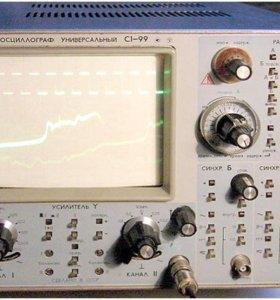 Осциллограф,частотомер,вольтметр,генератор сигн.