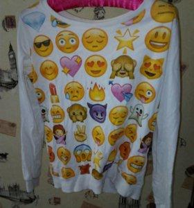 Свитшот,кофта,худи смайл emoji
