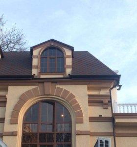 Фасадные работы:короед ,утепление
