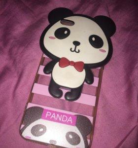Чехол панда на iPhone 6/6s