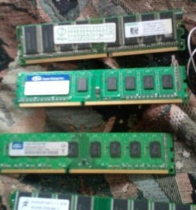 Оперативная память DDR3 две и две DDR400