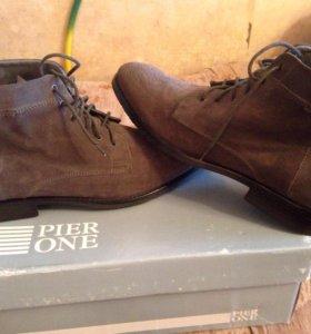 Ботинки Pier One (Натуральная замша)