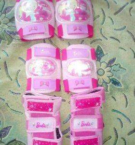 Ролики и защита для девочки