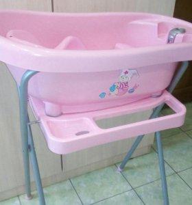 Ванночка BebeJou с подставкой