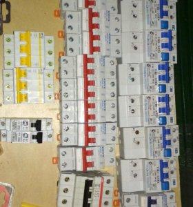 Выключатель автоматический, счётчики