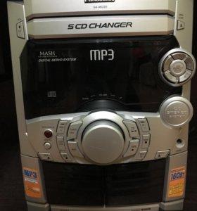 Музыкальный центр MP3 Panasonic