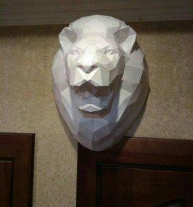 Голова льва