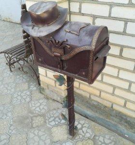 """Почтовый ящик """"Сундук ковбоя"""""""
