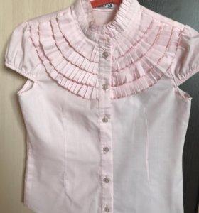 Блузки  для девочки 7-8 лет