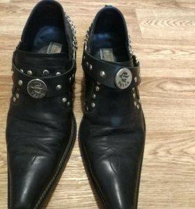 Ботинки казаки мужские р.42