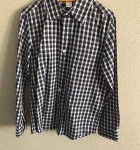 Рубашка для мальчика 8-10 лет