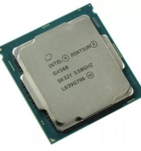 Процессор g4560 (кулер в подарок)