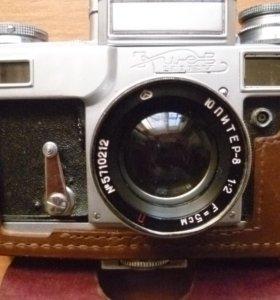 Раритетный плёночный фотоаппарат киев юпитер 8