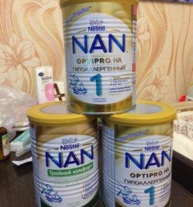 Смесь Nan optipro на гипоаллергенный