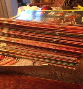 Журналы + диски «Золотой глобус» торг
