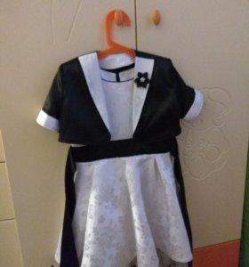 Платье праздничное на 6-7лет