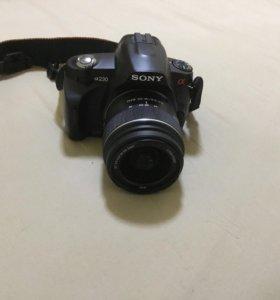 Фотоаппарат Sony a230 kit 18-55