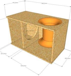 Проектирование и изготовление сабвуферных корпусов