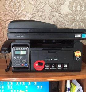 Мфу Pantum M6607NW Принтер Сканер Копир лазерный