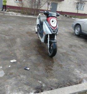 Скутер 72 сс
