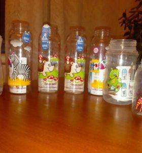 7 новых бутылочек без сосок