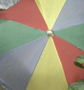 Пляжный зонт большого диаметра