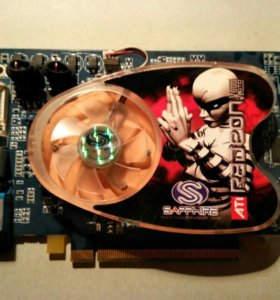 Radeon X 800 GTO 128 Мегабайт, DDR,