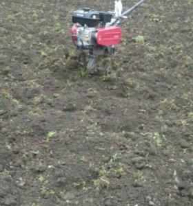 Вспашка огородов 100 р сотка