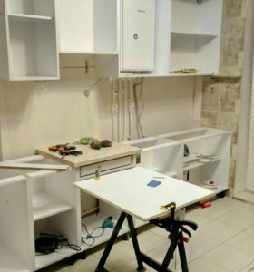 Сборка Кухни, шкаф купе, офисная мебель и др.