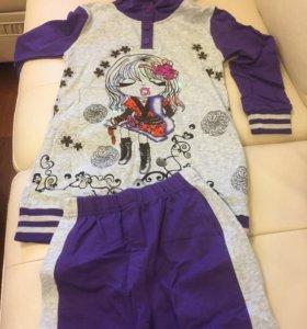 Детский спортивный костюм для девочки новый