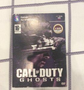 Игра лицензионная на PC Call Of Duty-G H O S T