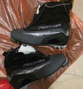 Ботинки лыжные 39р маломерят