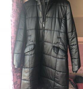 Новое пальто синтепон 46