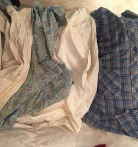 Мужские рубашки 12 шт пакет