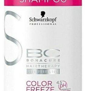 Bonacure Защита цвета Color Freeze Silver Сияние Ш