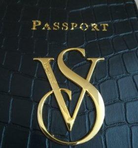 "Обложка на паспорт ""Viktoria's Sekret"""