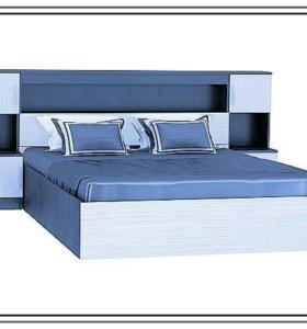Кровать с порталом