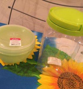 Набор банок/емкостей для хранения 8 штук