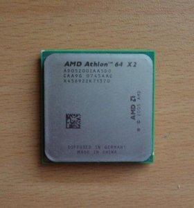Процессор cpu AMD Athlon 64x2 5200+ 2.7 ГГц